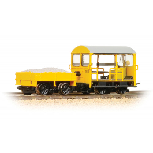 32-992 Wickham Type 27 Trolley Car BR Engineers Yellow