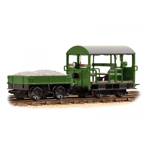32-994 Wickham Type 27 Trolley Car BR Engineers Green