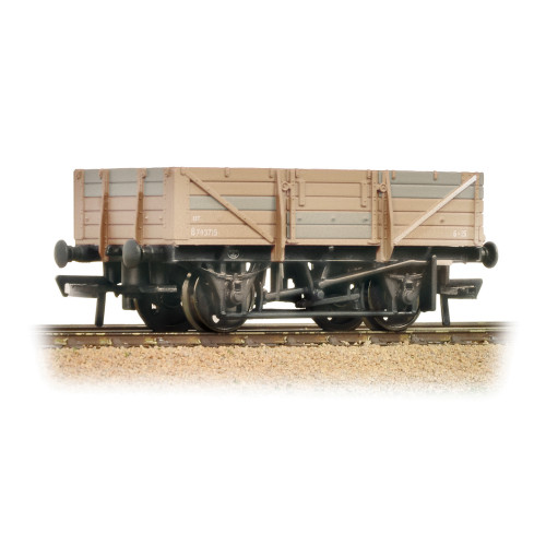 33-087 5 Plank China Clay Wagon without Hood BR Bauxite Weathered