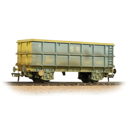 33-435C 51 Tonne SSA Scrap Wagon in SR Blue & Grey and Weathered