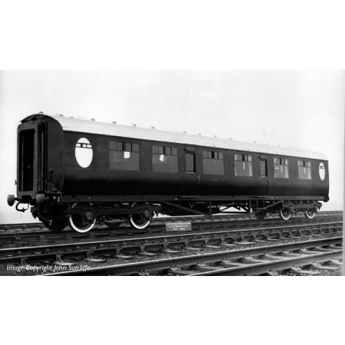 34-410 Thompson Composite Corridor LNER Teak