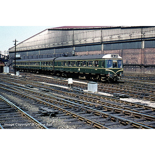 35-501 Class 117 3-Car Diesel Multiple Unit in BR Blue & Grey Livery