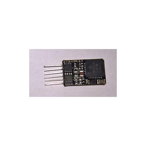 36-568 6-Pin DCC Loco-Decoder with Back EMF featuring Railcom®