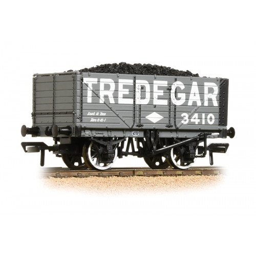 37-091 7 Plank End Door Wagon - Tredegar - with Load
