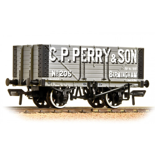 37-117 7 Plank Fixed End Wagon C.P. Perry & Son