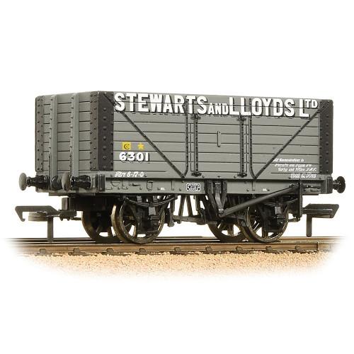 37-157A 8 Plank Fixed End Wagon in Stewart & Lloyds Ltd Livery