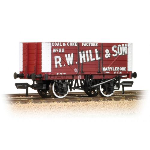 37-162 8 Plank Fixed End Wagon 'R. W. Hill & Son'
