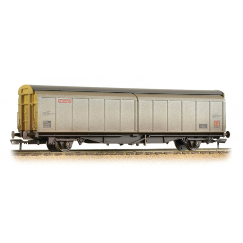 37-604A 46 Tonne glw VGA Sliding Wall Van in Railfreight Distribution Livery - Weathered