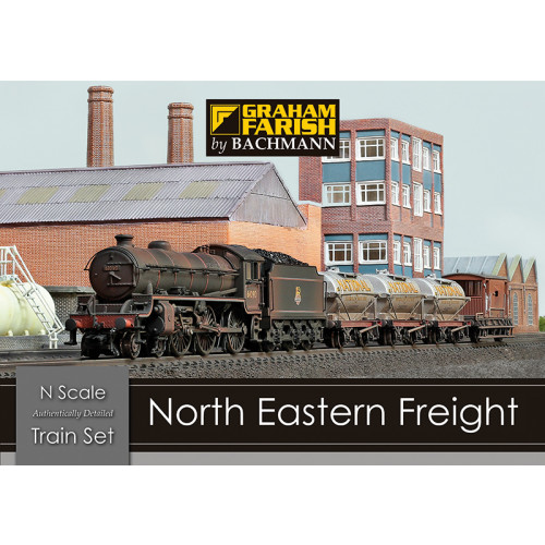 370-090 North Eastern Freight Train Set