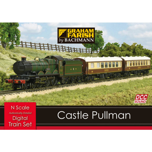 370-160 Castle Pullman Set Digital Sound Train Set
