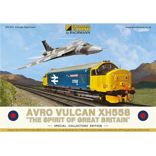 370-375 Avro Vulcan XH558 Collectors Pack