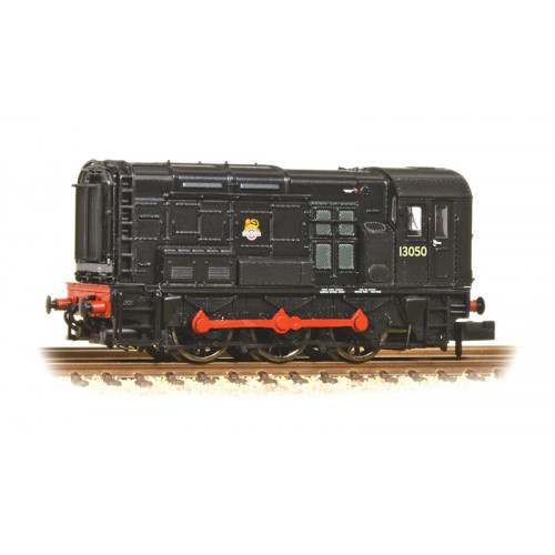 371-020A Class 08 Diesel Shunter No.13050 in BR Black Livery with Early Emblem