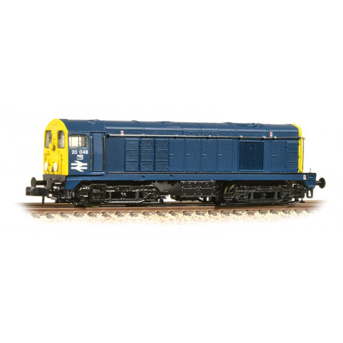 371-032A Class 20 Diesel No.20048 in BR Blue with Cabside Double Arrow and Indicator Discs