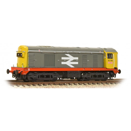 371-034A Class 20 Diesel No.20156 in BR Railfreight Grey with Red Stripe