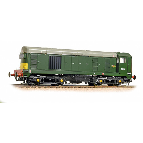 371-038 Class 20 Diesel No.D8158 in BR Green with Headcode Box and Small Yellow Panel