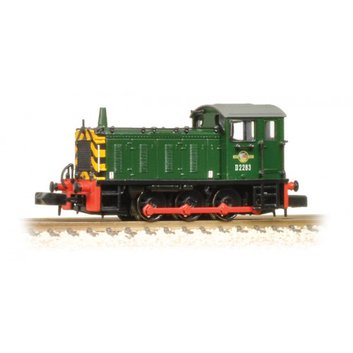 371-050C Class 04 No.D2283 in BR Green with Warning Stripes