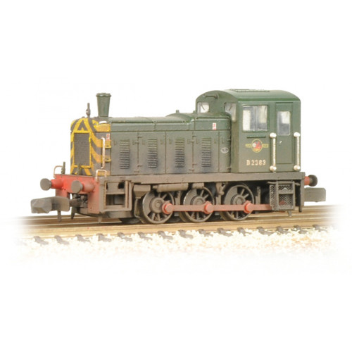 371-063 Class 03 D2383 BR Green Wasp Stripes Weathered