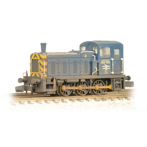 371-064 Class 03 03170 BR Blue Wasp Stripes & Air Tanks Weathered