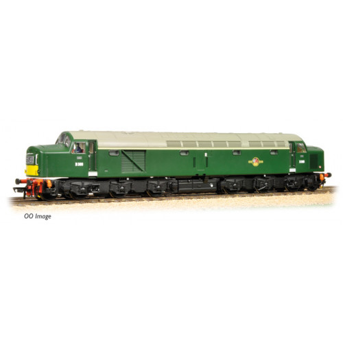 371-181 Class 40 D369 BR Green Centre Head Code Small Yellow Panel