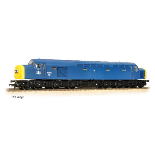 371-182 Class 40 40159 BR Blue Centre Head Code Full Yellow Ends