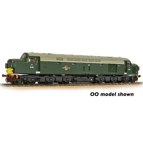 371-185 Class 40 Diesel locomotive with Split Headcode No.D338 in BR Green with Small Yellow Panels