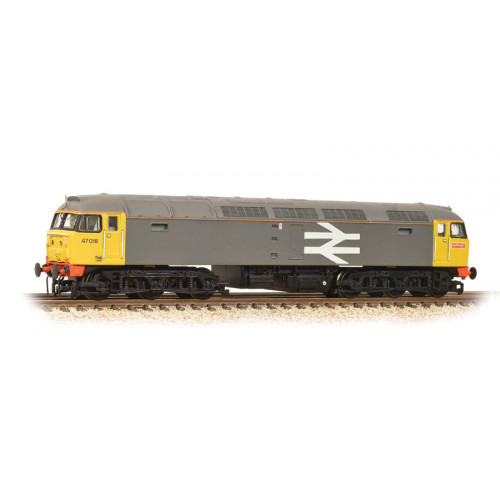 371-249 Class 47 Diesel No.47018 in BR Railfreight Livery