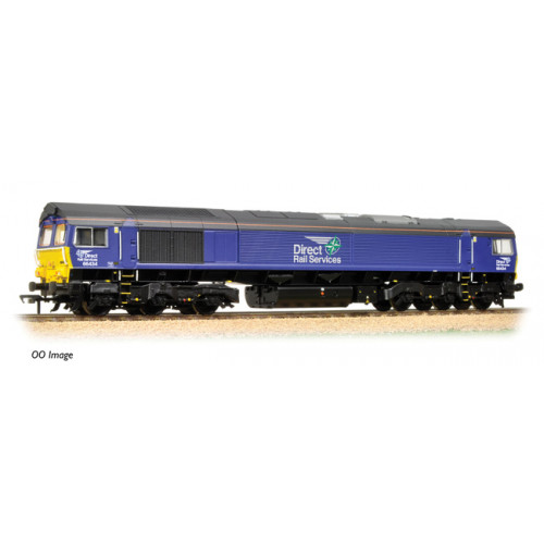 371-397 Class 66 N0.66434 in DRS Plain Blue Compass Livery