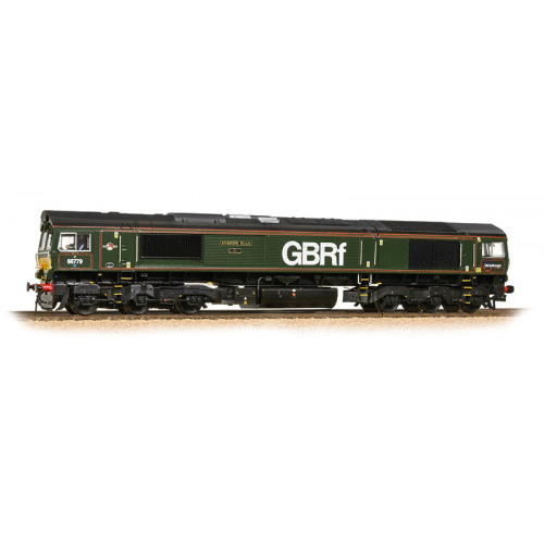 "371-398 Class 66 No.66779 Diesel Locomotive ""Evening Star"" in GBRf Livery / Brunswick Green"