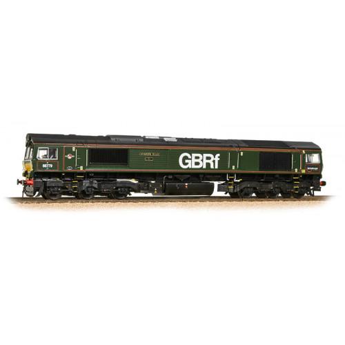 "371-398 Class 66 No.66779 Diesel Locomotive ""Evening Star"" in GBRf Livery / Brunswick Green"