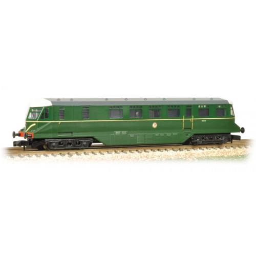371-628 GWR Railcar W22W in BR Brunswick Green with Speed Whiskers