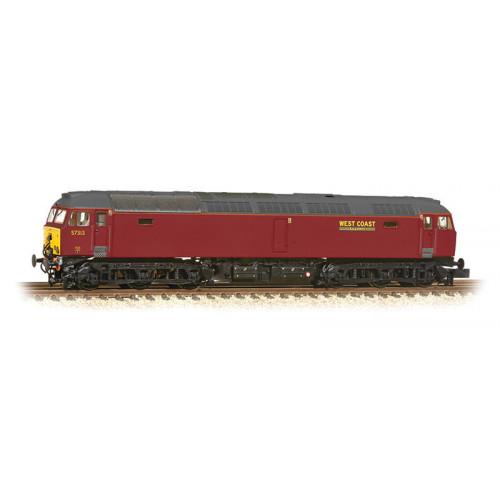 371-658 Class 57/3 Diesel Locomotive No.57313 in West Coast Railways Livery