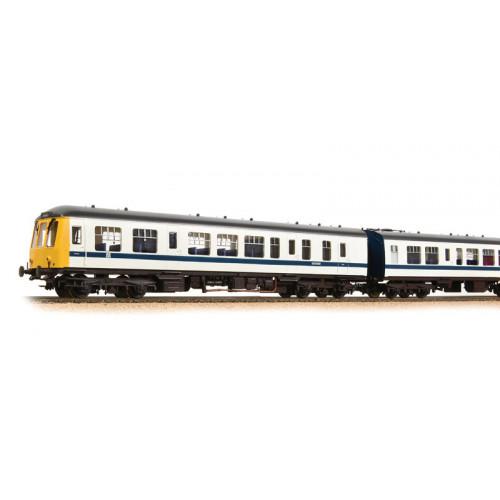 371-888 Class 108 3-Car DMU in BR White & Blue Livery
