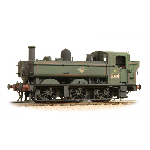 371-988 Class 64xx 0-6-0T Pannier Tank No.6419 in BR Lined Green with Late Crest