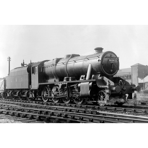 372-161 Stanier Class 8F 2-8-0 Locomotive No.8035 in LMS Black Livery