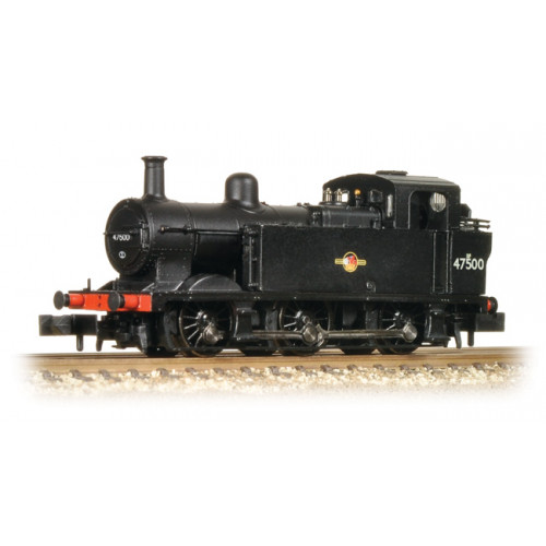 372-212A Class 3F (Jinty) No.47500 in BR Black with Late Crest