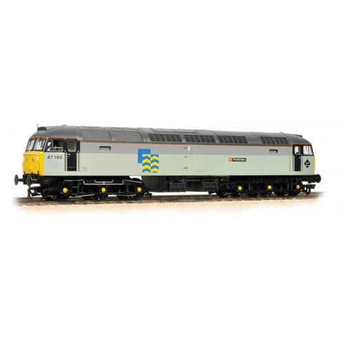 372-247 Class 47 Diesel Locomotive No.47209 Herbert Austin in BR Railfreight Distribution Livery