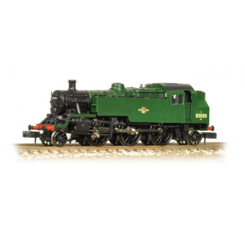 372-331 BR Standard Class 3MT Tank Locomotive No.82020 in BR Plain Green with Late Crest