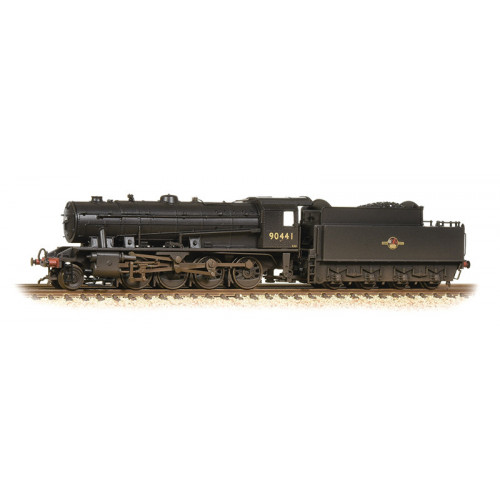 372-425A WD Austerity Class 2-8-0 Locomotive No.90441 in BR Black with Early Emblem - Weathered