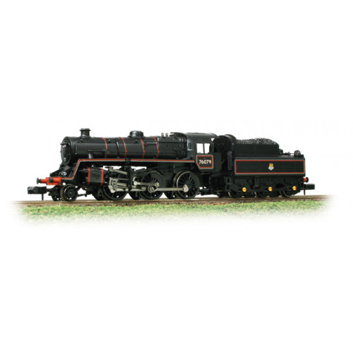 372-653 BR Standard Class 4MT Locomotive No.76079 in BR Lined Black with Early Emblem