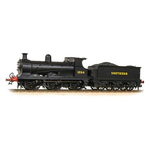 372-776 C Class Wainwright 0-6-0 Tender Locomotive No.1294 in Southern Railway Black Livery