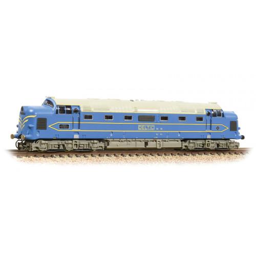 372-921 DPI Deltic Diesel in Light Blue & Cream Livery