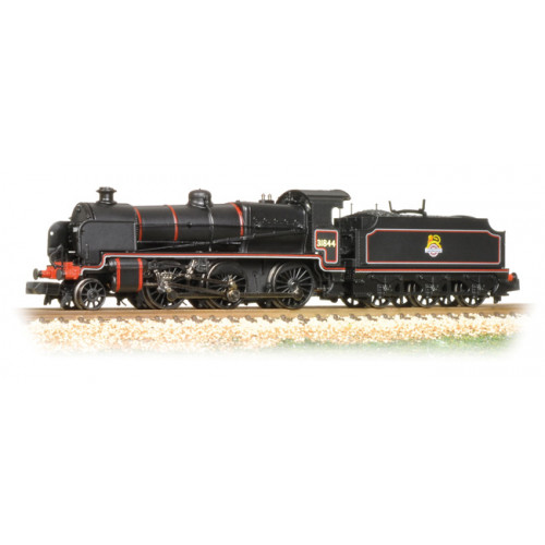 372-931 N Class 2-6-0 Locomotive No.31844 in BR Black with Early Emblem