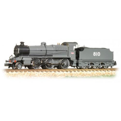 372-933 N Class 2-6-0 Locomotive No.810 in SECR Grey Livery