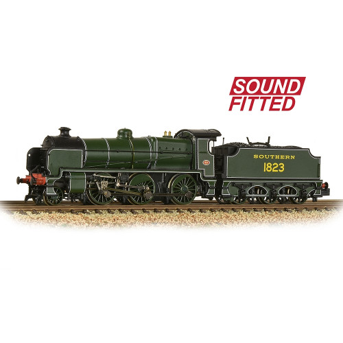 372-934DS N Class 2-6-0 Locomotive No.1823 in Southern Railway Lined Maunsell Green