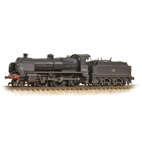 372-935 N Class 2-6-0 Locomotive No.31810 in BR Black with Late Crest - Weathered