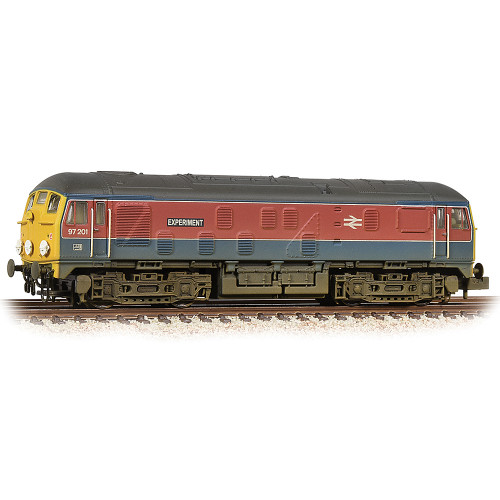 372-980 Class 24 Diesel Locomotive No.97201 Experiment in RTC Livery - Weathered