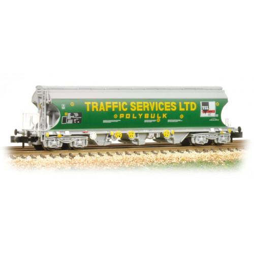373-237 Bulk Grain Bogie Hopper Wagon 'Traffic Services Limited'