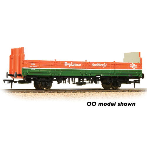 373-627D 31 Ton OBA Open Wagon with High Ends in Plasmor Blockfreight Livery