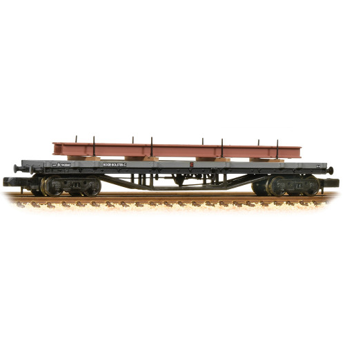 373-926D 30T Bogie Bolster C in BR Grey (Early) - Includes Wagon Load