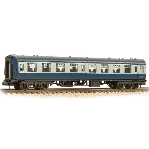 374-013D BR Mk1 TSO Tourist Second Open in BR Blue & Grey - Weathered